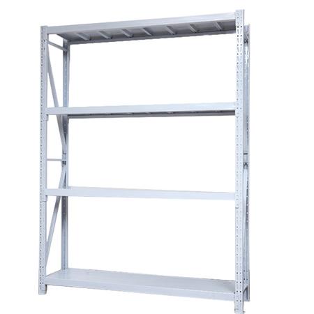 仓储置物架家用貨架加厚钢制组装储物架超市库房轻中型货架