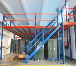钢制货架楼梯分层式货架